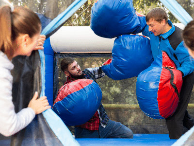 interactive inflatable games dfw