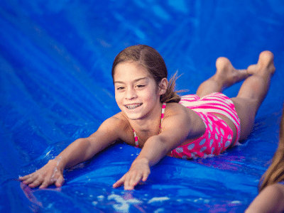 slip n slide rental dfw