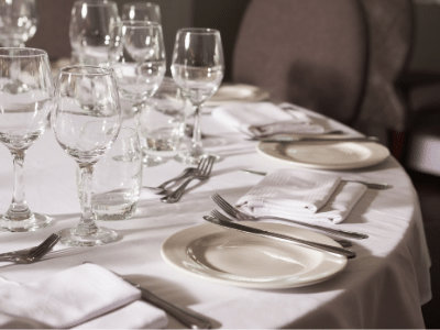 table linen rentals dfw