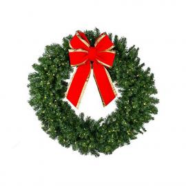 large christmas wreath rental Happy Hill