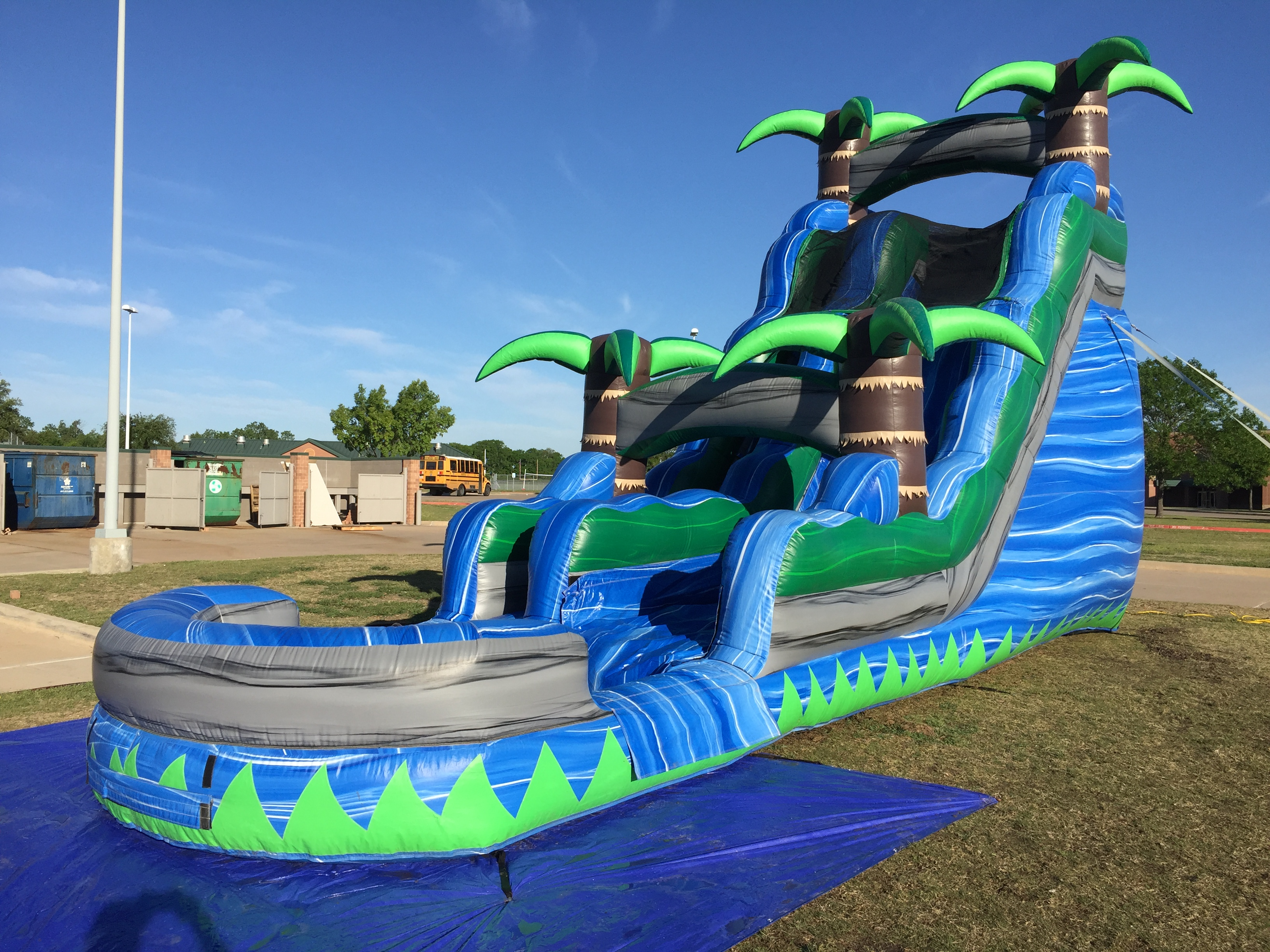 Water Slide Rentals Mansfield Tx Cowboy Party Rentals