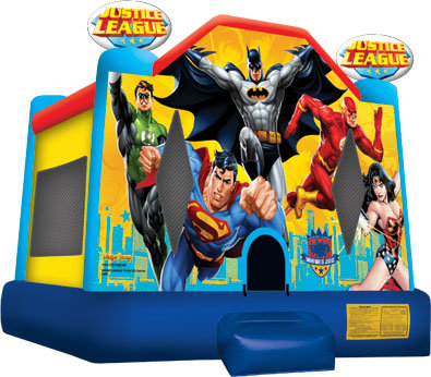 Justice League Licensed Bounce House
