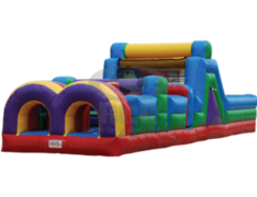 40 ft Multi Colored Obstacle Course