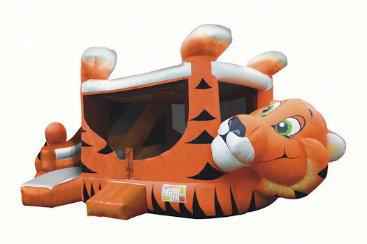 Dry Tiger Belly Bounce House Combo