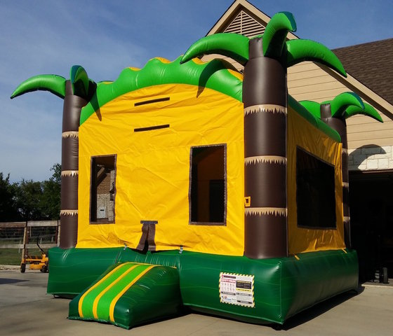 Deluxe Tropical Bounce House