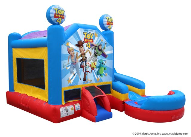 Wet Toy Story Bounce House Combo Rental