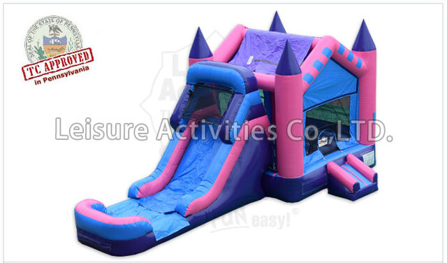 Wet Fairy Tale Bounce House Combo