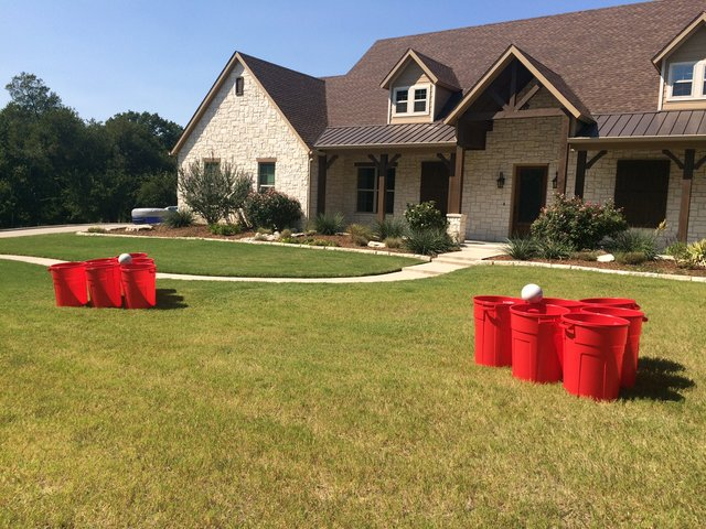 Yard Pong Game