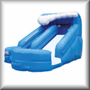 12 Ft Lil Splash Water Slide Rental