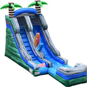 16' Surf's Up Water Slide