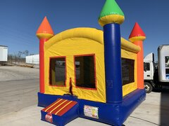 Colorful Castle Bounce House