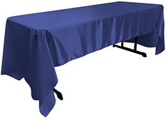 Royal Blue 60x120 Rectangular Linen