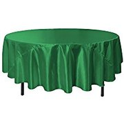 Kelly Green 90 inch Round Tablecloth