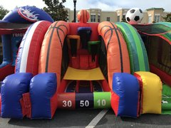 Basketball Challenge Inflatable Game
