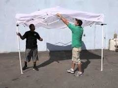 Set up/Break down of 10x10 Party Tents