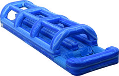 Dual Laned Blue Wave Slip n Slide with Pool