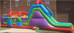 40 Ft Wacky Obstacle Course Rental