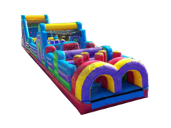 70' Multi Colored Obstacle Course with RCS