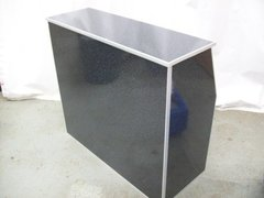 48 inch Portable Bar Black Marble