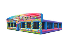 Inflatable Fun House Maze Rental