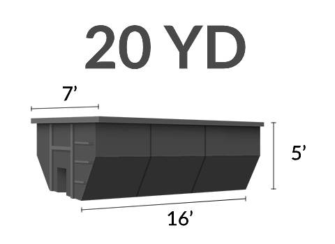 20 yard dumpster rentals for roofing projects in Everman TX