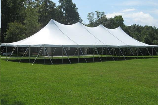 40'x100' High Peak Pole Tent