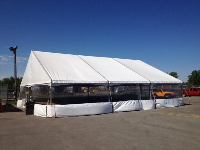 40'x45' Gable End Frame Tent