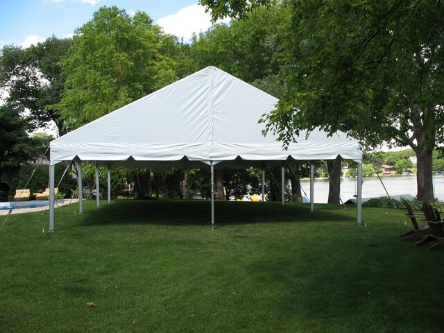 40'x30' Gable End Frame Tent