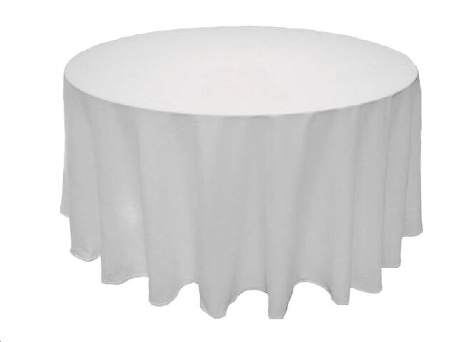 5' Round Floor length Table Linen