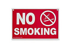 Non Smoking Signs