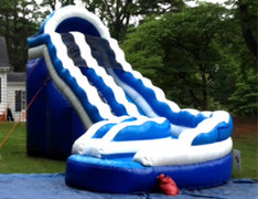 19 ft CURVE SLIDE (WET)
