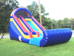 16 ft SINGLE LANE SLIDE (DRY)