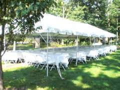 20 x 50 (Seating 80) Tent Package