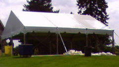 30'x45' Gable End Frame Tent