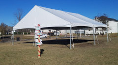 30'x30' Gable End Frame Tent