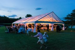 30 x 60 Clear Gable Frame Tent