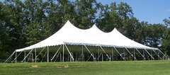 40x100 High Peak Pole Tent