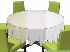 5' Round Table Lap Length Linen