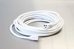 Extension Cord 50 ft white