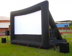 INFLATABLE OUTDOOR MOVIE THEATER PACKAGE