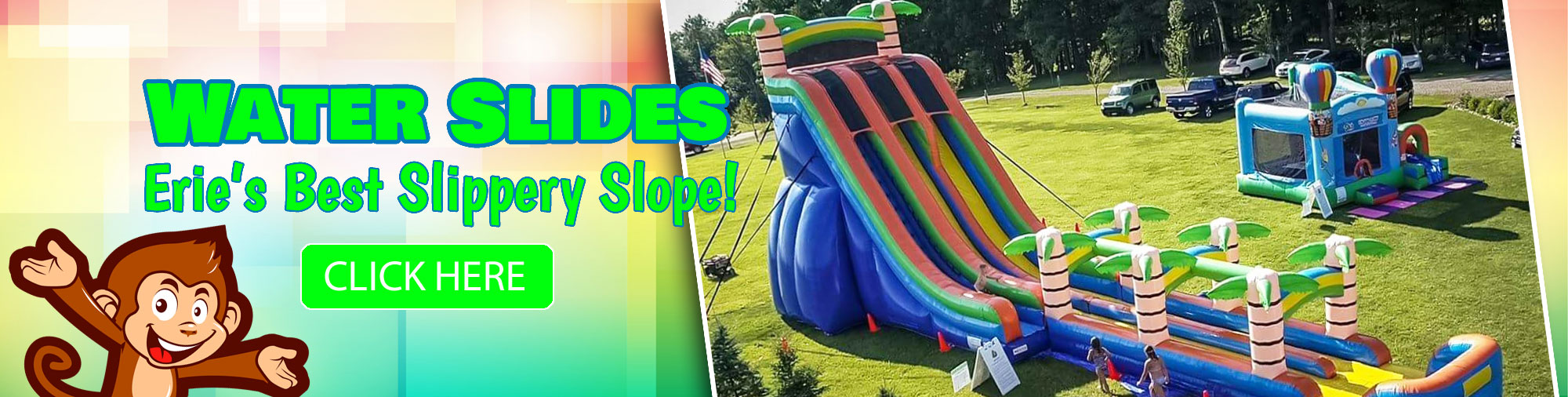 bounce houses party rentals crazy monkey inc erie pa