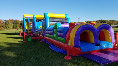 100ft Mega Obstacle Course