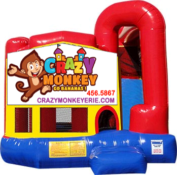 Crazy Monkey Combo Bouncer