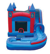 Jump-N-Splash Castle Combo