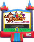 Crazy Monkey Castle