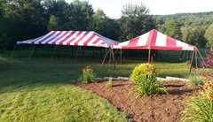 Striped Party Tents
