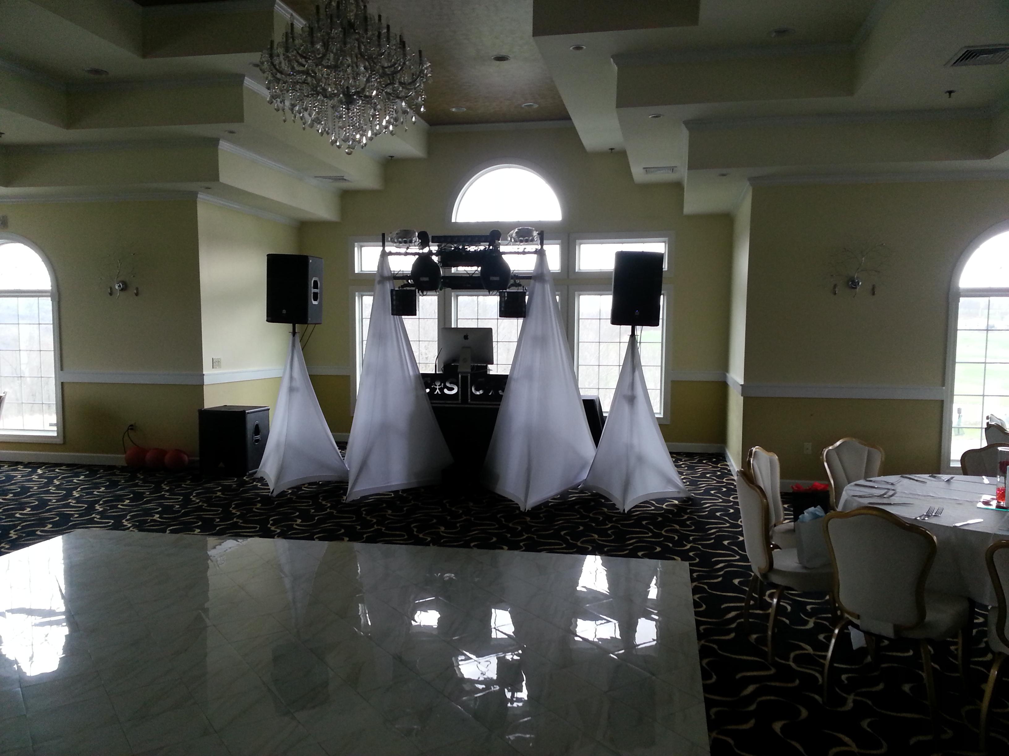 Formal DJ Set Up