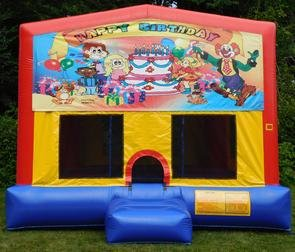 Happy Birthday Party Bounce House
