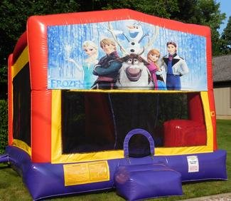 Frozen Bounce House Slide Combo