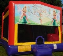 Tinkerbell Bounce House Slide Combo
